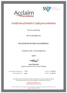 Thumbnail of Acclaim Health and Safety Certificate