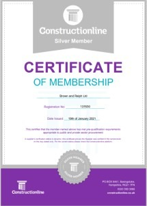 Thumbnail of Construction Online Certificate